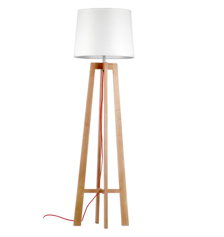 Đèn cây gỗ DCAY2017