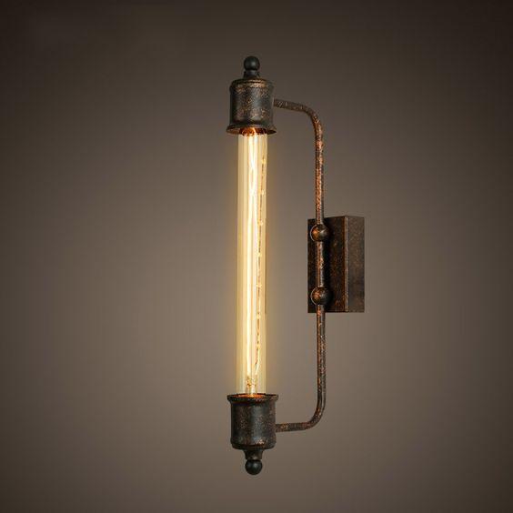 Đèn tường sắt DTG0002
