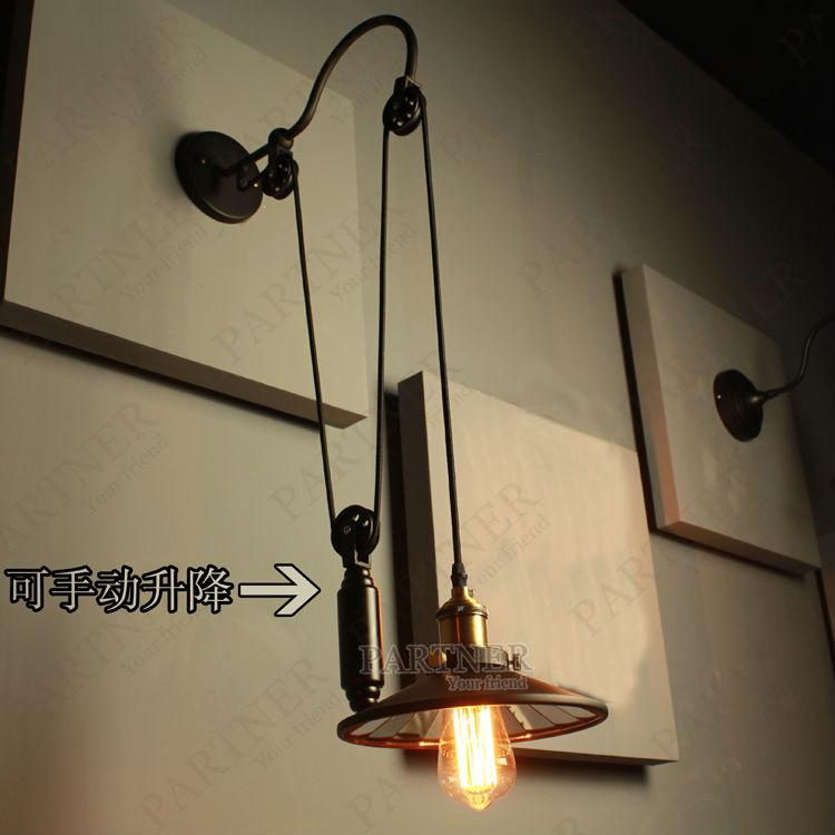 Đèn tường sắt DTG0030
