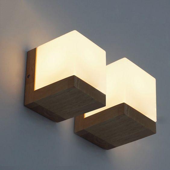 Đèn tường gỗ DTG6001