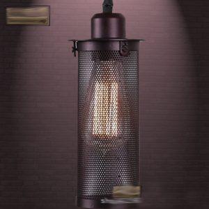 Đèn thả sắt DTH0002