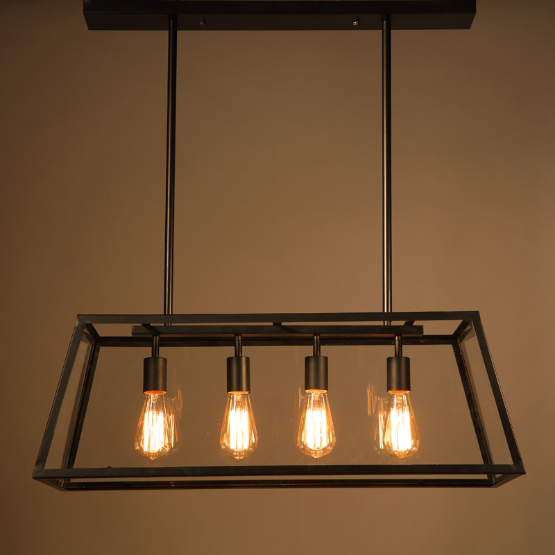 Đèn thả sắt DTH0205