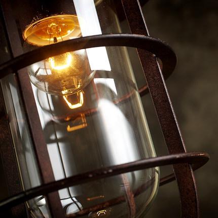 Đèn thả sắt DTH0206