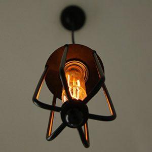 Đèn thả sắt DTH0604