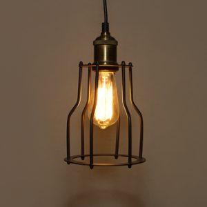Đèn thả sắt DTH0613