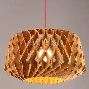 Đèn thả gỗ DTH2003