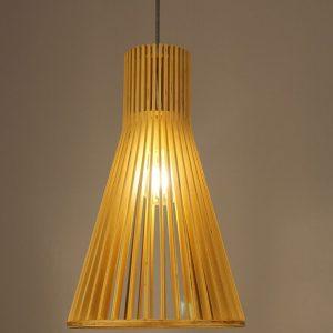 Đèn thả gỗ DTH2005