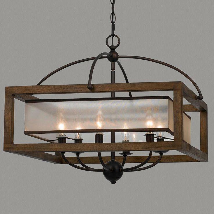 Đèn thả gỗ DTH2010