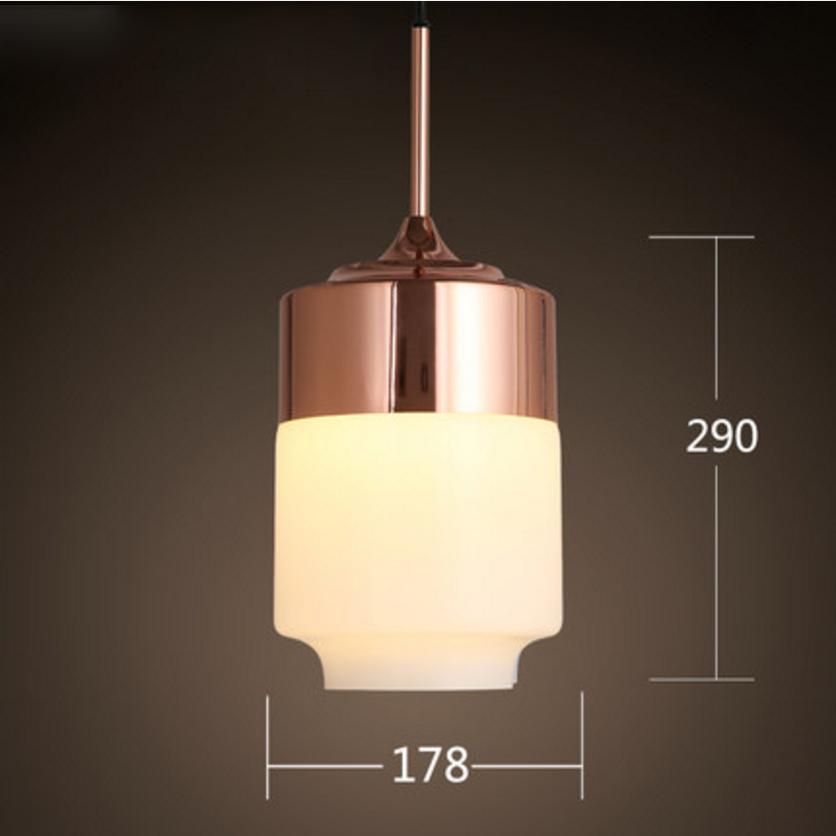 Đèn thả thủy tinh DTH4003