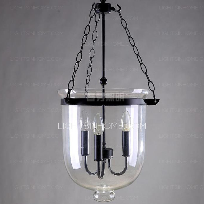 Đèn thả thủy tinh DTH4028