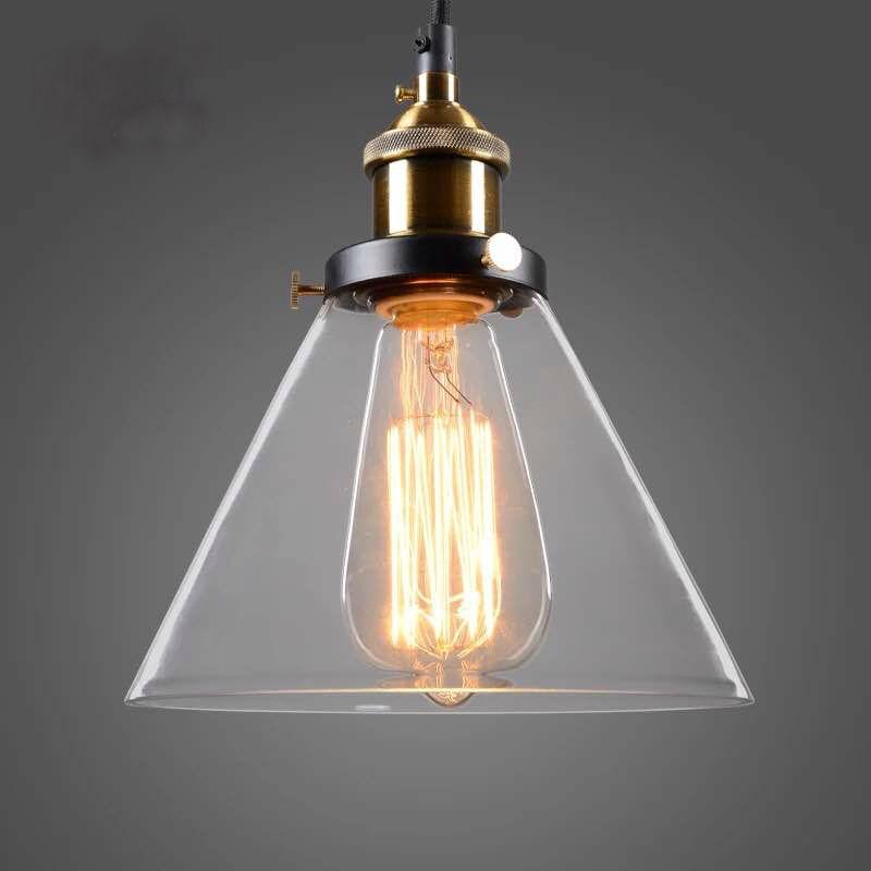 Đèn thả thủy tinh DTH4040