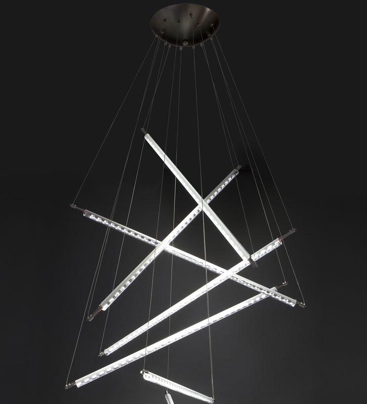 Đèn thả thủy tinh DTH4048