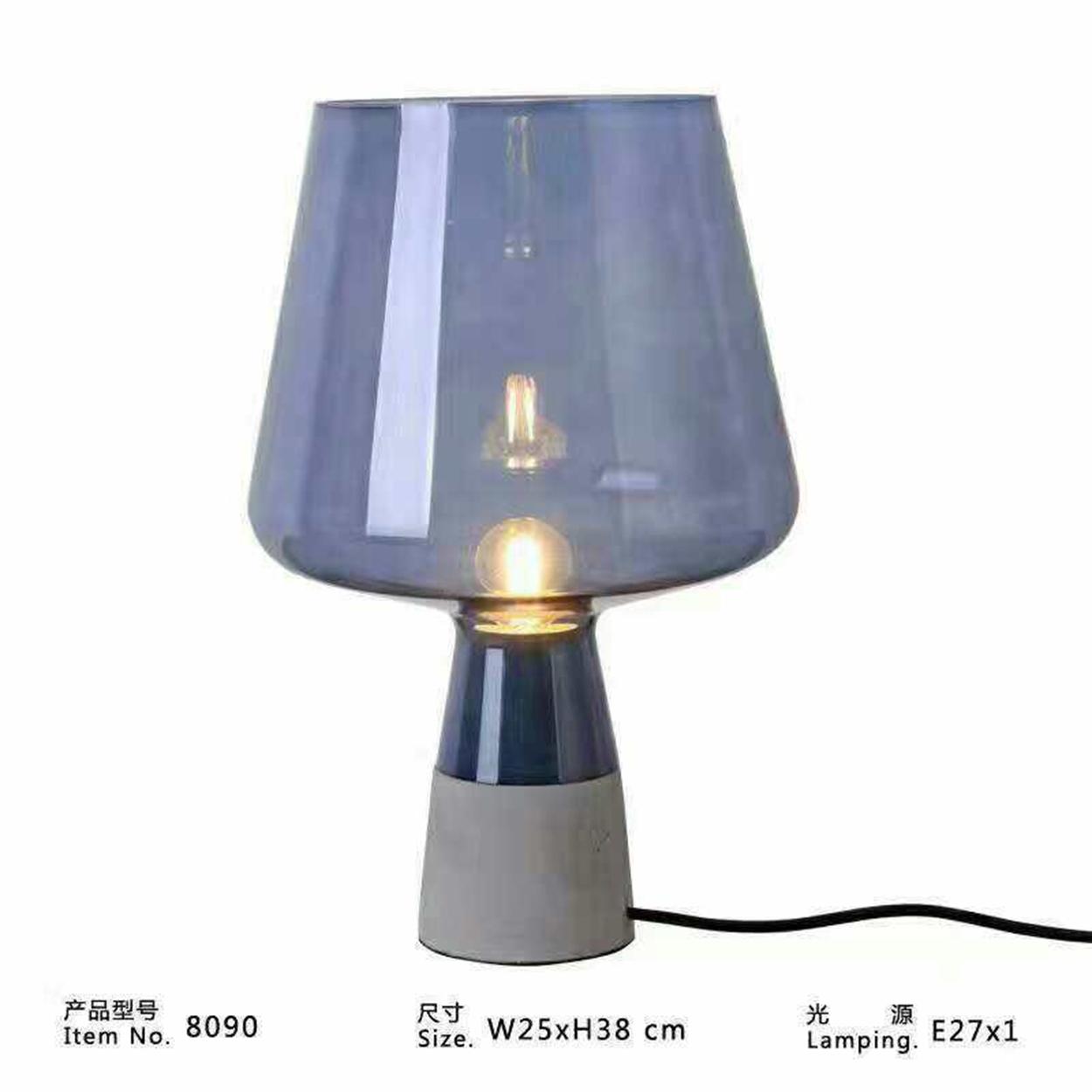 Đèn bàn thủy tinh DBAN4018