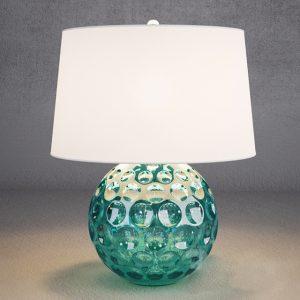 Đèn bàn lồng vải DBAN6005