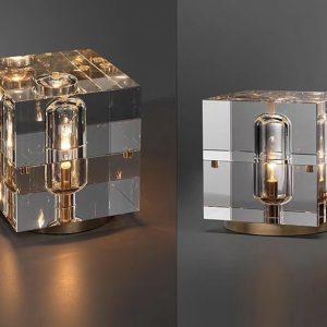 Đèn bàn thủy tinh DBAN4055