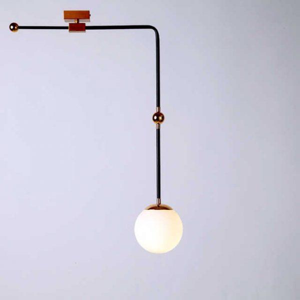 Đèn tường sắt DTG00114