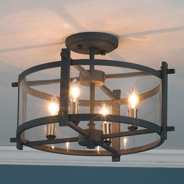 Đèn chùm sắt DCHUM0124