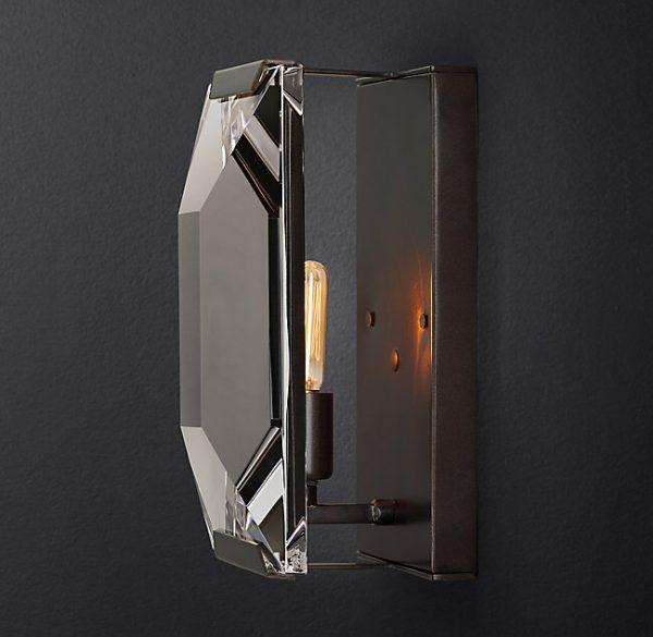 Đèn tường thủy tinh DTG5090