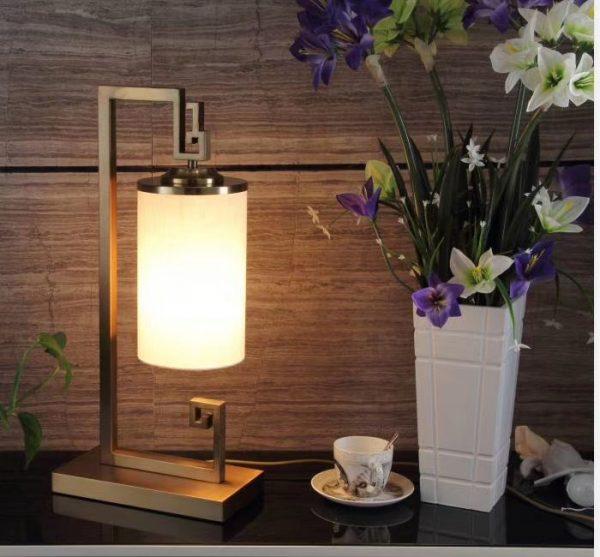 Đèn bàn lồng vải DBAN6097