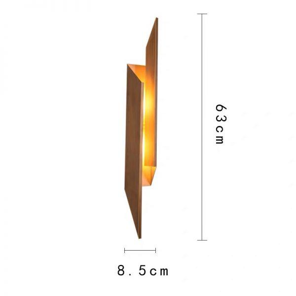 Đèn tường sắt DTG00133